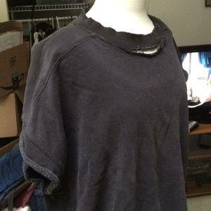 Levi's Shirts - Levi's Men's Distressed Short-Sleeved Sweatshirt